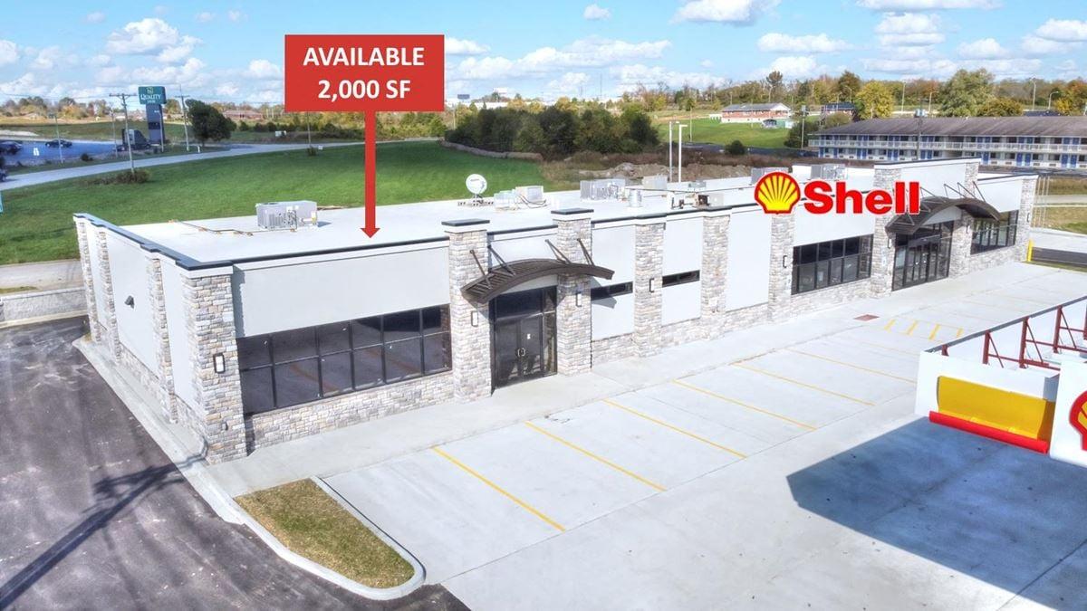 Endcap w/ Drive-Thru - New Shell Station