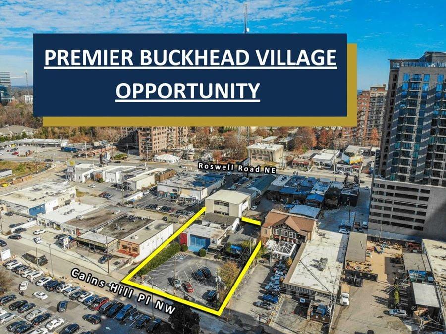 Premier Buckhead Village Opportunity | 2 Buildings | 0.436  acres