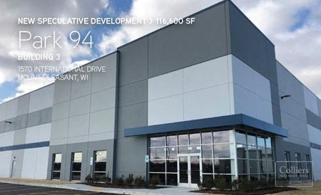 41,367 SF Remain for Lease in Mt. Pleasant, WI - Mt. Pleasant