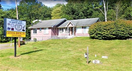 1.2 AC Commercial Site w/2-Story Building - Tannersville