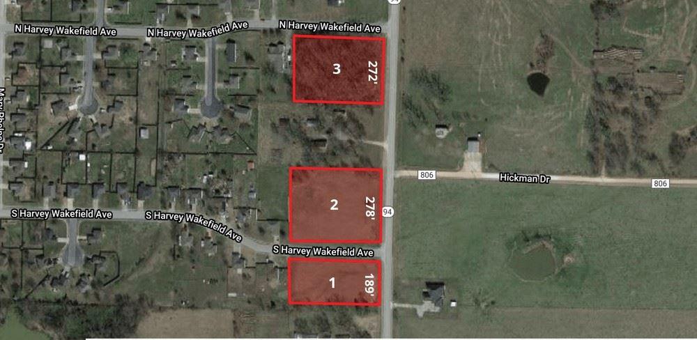 6.18 Acres Lots 1-3 HWY 94/ S. Harvey Wakefield Avenue