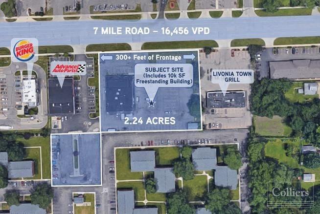 For Sale > Land & Building > 2.24 +/- Acres