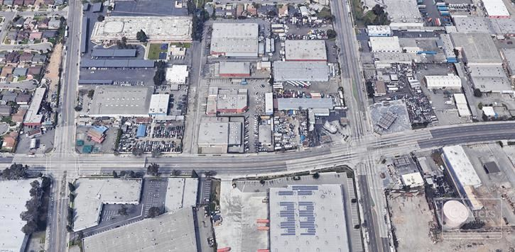 **SOLD** 505 E. Rosecrans Free Standing Building for Lease with Fenced/Secured Yard
