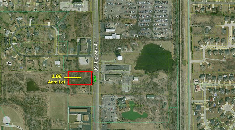 1.86 Acre High Exposure Site Directly on US 41