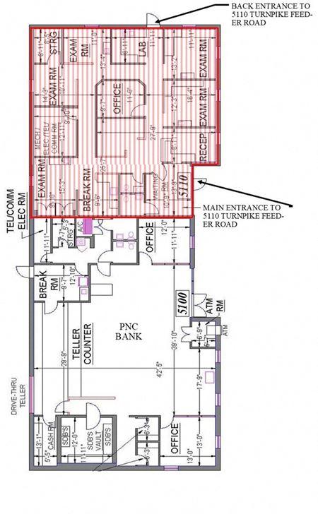 Office Space - Ground Floor - Ft. Pierce