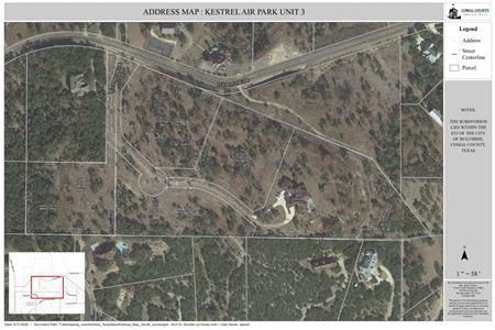 Kestrel Air Park Unit 3 - Hilltop Lots - Spring Branch