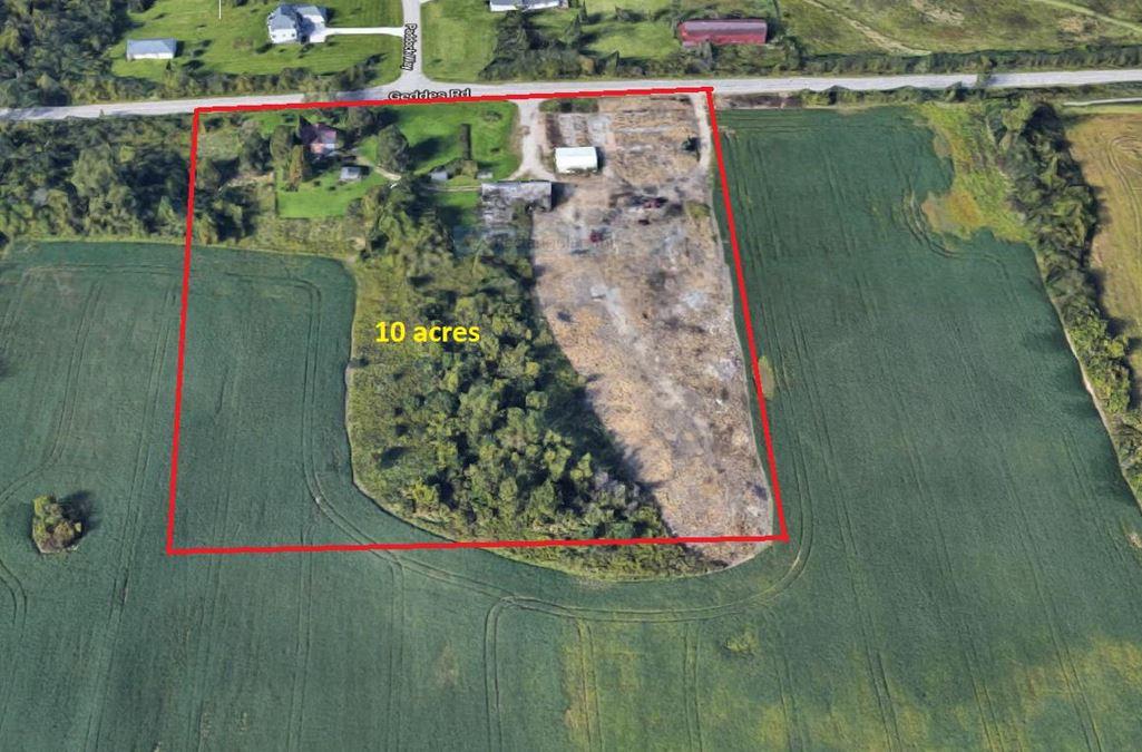 10 Acres Development Land For Sale | Superior Township
