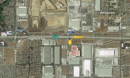 Rialto-SEC Hwy 210 and Alder Ave-2.15 AC Sale or GL - Rialto