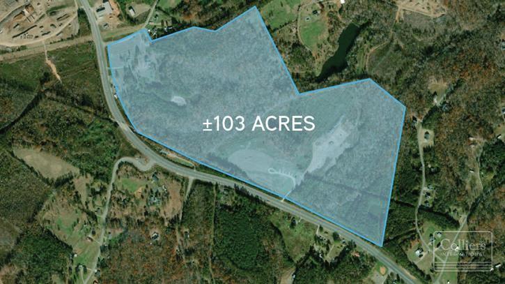 ±103 Acres Blacksburg Industrial Development Land