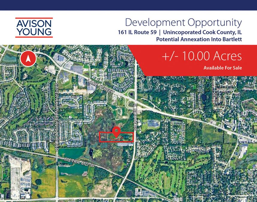 Unincorporated Cook County Land For Development