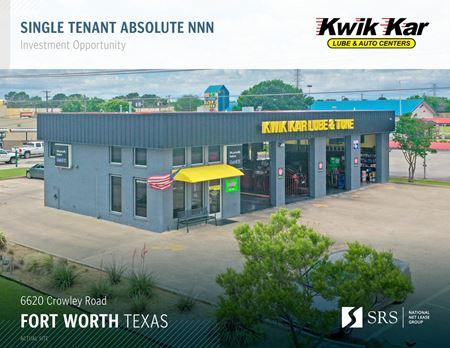 Fort Worth, TX - Kwik Kar Tune and Lube - Fort Worth