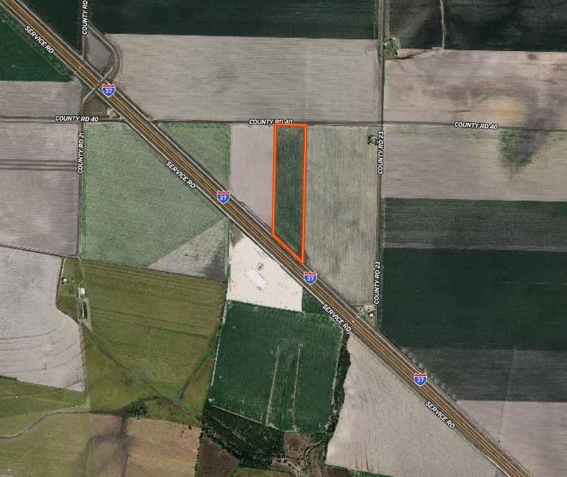 ± 25.40 Acres   IH 37
