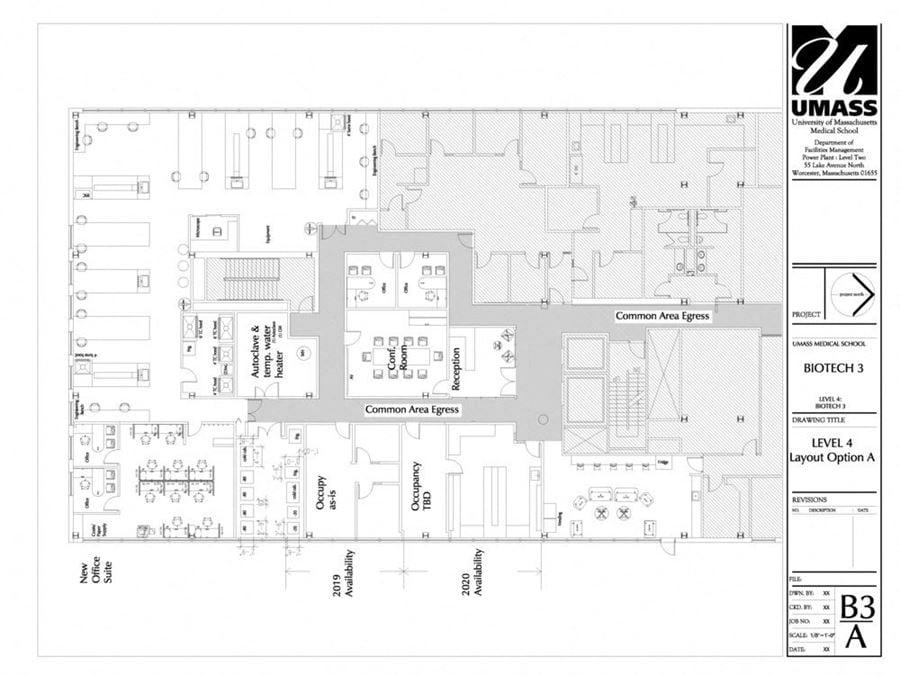 UMass Medical Science Park - Building 3
