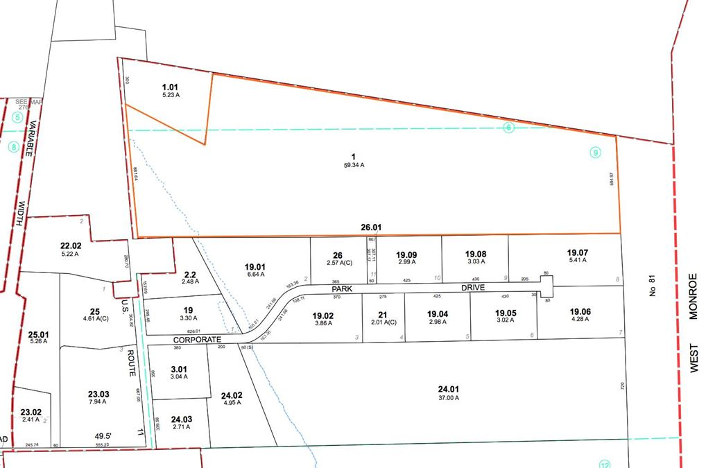 Up To 60+/- Acres Available