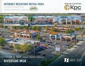 Hemet, CA - Shops at KPC Towne Center