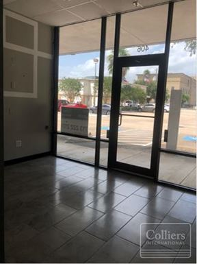 For Lease   1,000 SF Retail/Office & Showroom