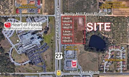 Holly Hill Fruit Road Rd & US 27 - Davenport