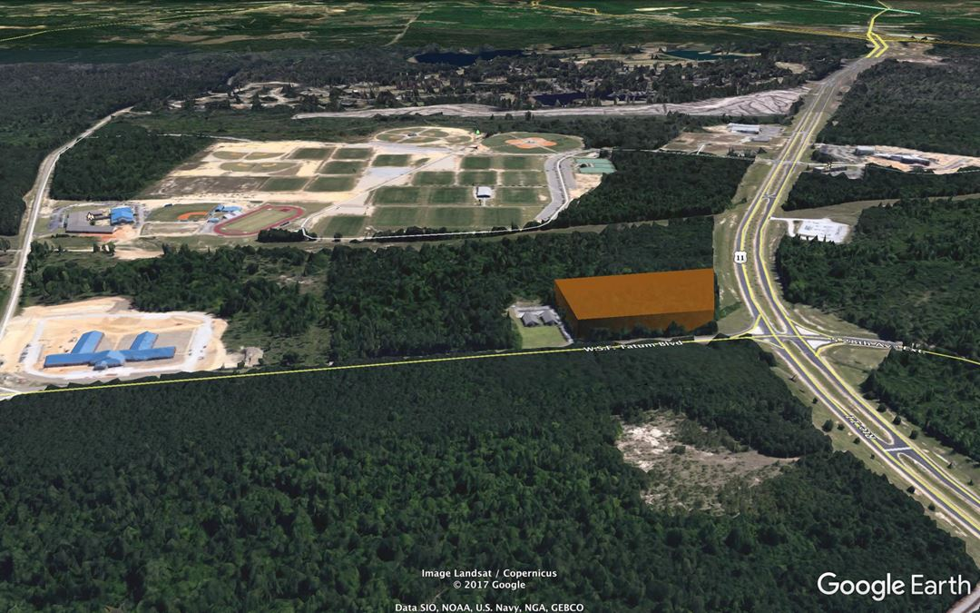 Opportunity Zone | Veterans Memorial Drive - Signalized Corner | Hattiesburg, MS