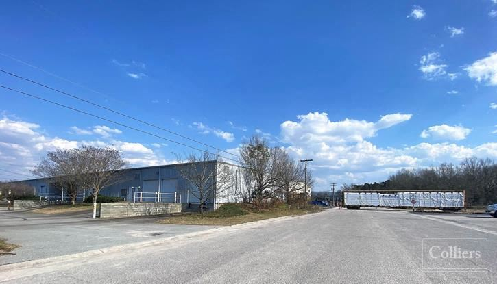 ±15,000 SF of Industrial Space Available for Lease in CSX Industrial Park