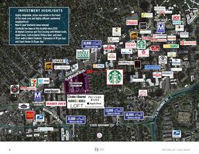 Arlington-Clarendon, VA - Starbucks Building - Arlington