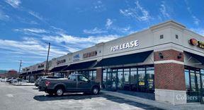 2,450 SF End-Cap Retail Space - Bethlehem