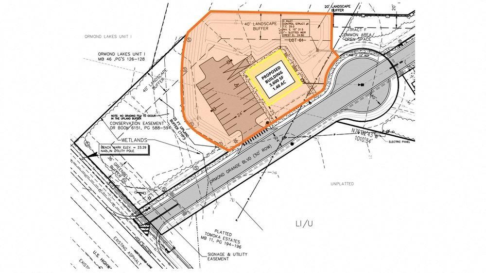 Industrial Pad-1.4 Acres-Build a 3,600 SF Building