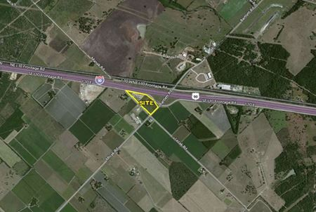 +/- 9.226 Acres For Sale on Interstate 10 Frontage Road - Sealy