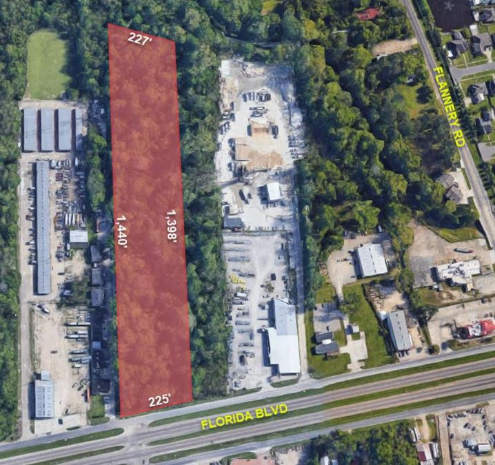 225' Florida Blvd Frontage - Vacant Land for Sale