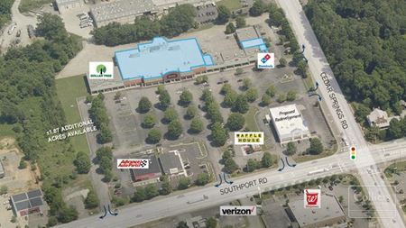 Retail and Big Box Space for Lease at Cedar Springs Crossing - Spartanburg