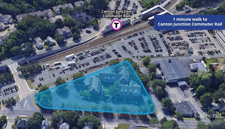 Office Space Across from Canton Junction MBTA Commuter Rail