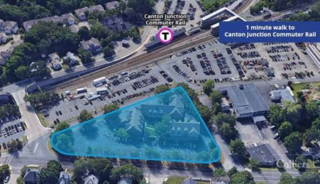 Office Space Across from Canton Junction MBTA Commuter Rail - Canton