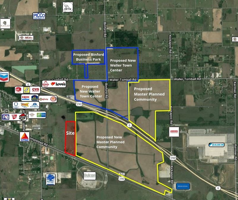 +/- 30 Acres of Land on Highway 290 Business - Will Divide