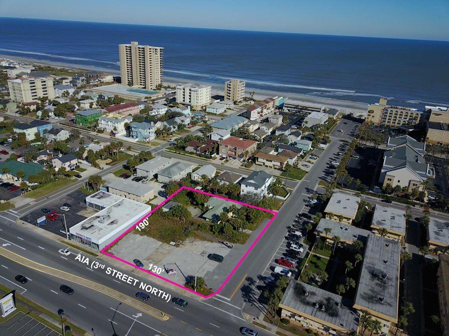 Jacksonville Beach Ground Lease on 3rd Street!