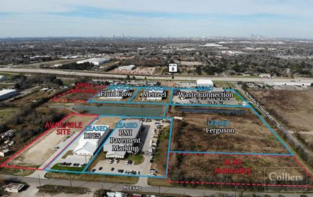 For Lease   ±17,850 SF Office Warehouse in Sterling Industrial Park - Houston