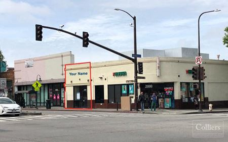RETAIL SPACE FOR LEASE - Berkeley