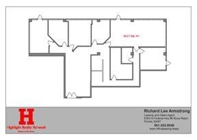 3517 SF with 5 Office in Palm Beach Lakes Blvd, West Palm Beach, FL 33409