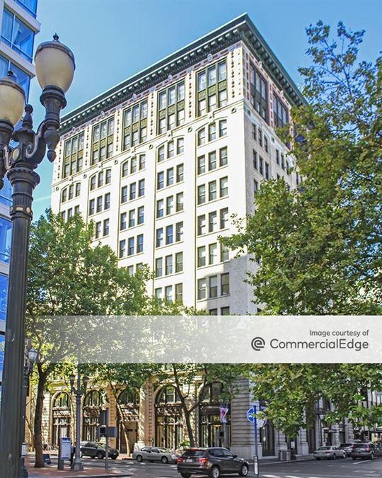Historic US National Bank Block