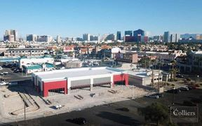 STRIP RETAIL SPACE FOR LEASE - Las Vegas