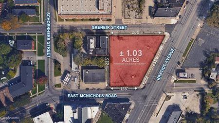 for Sale or Lease > Vacant Land - Development Site - Detroit