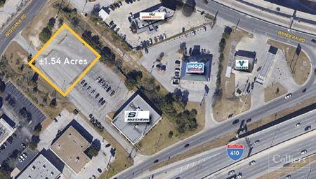 For Lease | Ground Lease/Build-To-Suit ±1.54 Acres in San Antonio, Texas - San Antonio