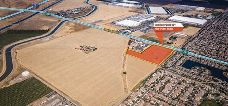 LAND  FOR LEASE AND SALE - Patterson