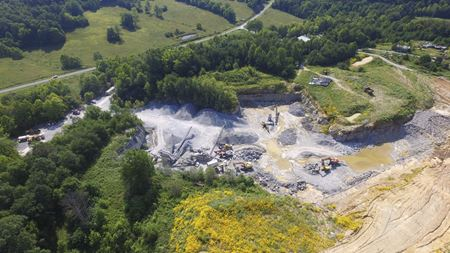 Rock Quarry for Sale! - Caneyville