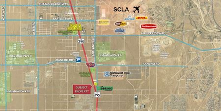Commercial Land Fronting Highway 395 & Adelanto Rd - Adelanto
