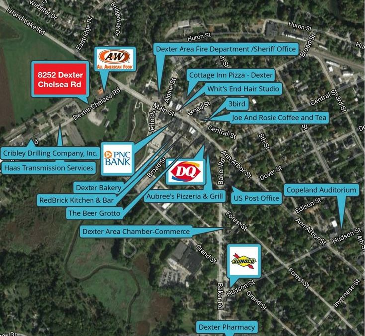 Dexter Retail Commercial Land for Sale