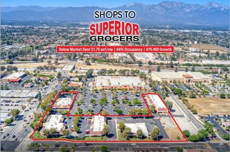 Shops to Superior Grocers - Chino