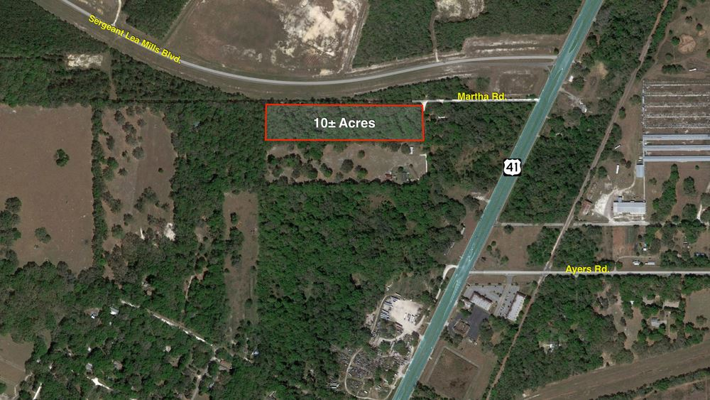 10 Acres near Brooksville Airport