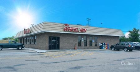 For Sale < 1.51 Acres < The Wheel Inn < Ideal Redevelopment < Minutes from Lansing - Saint Johns