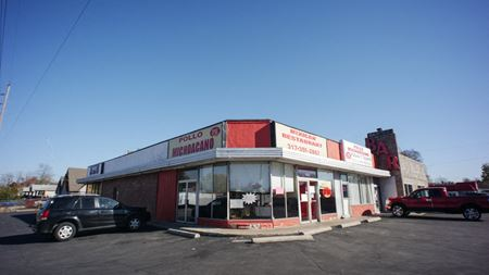 Strip Center with Bar 52 and  Liquor Store - Indianapolis