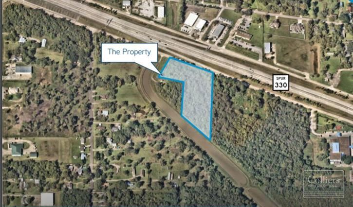 For Sale | ±3.65 Acres at Decker Drive
