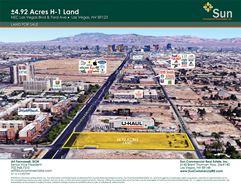 ±4.92 Acres H-1 Land - Las Vegas